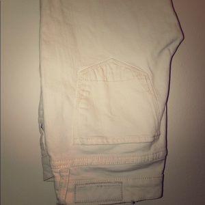 Bright White All Saints Full Length Jeans